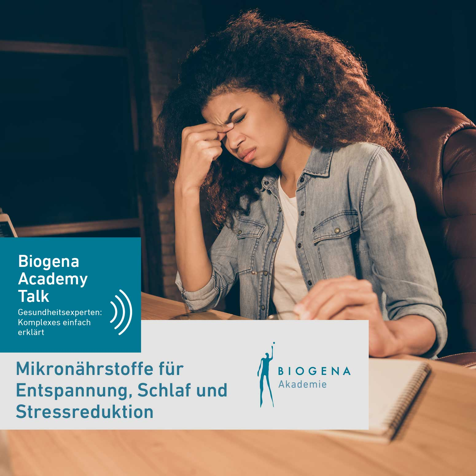 Podcast MN Schlaf, Entspannung, Stressreduktion